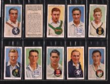Cigarette cards Cricketers 1938 set of 50 By Players